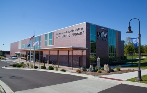 Exterior view of Novi Public Library