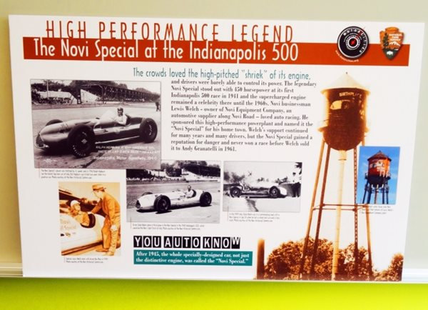 Mortorcities Marker - High Performance Legend: The Novi Special at the Indianapolis 500