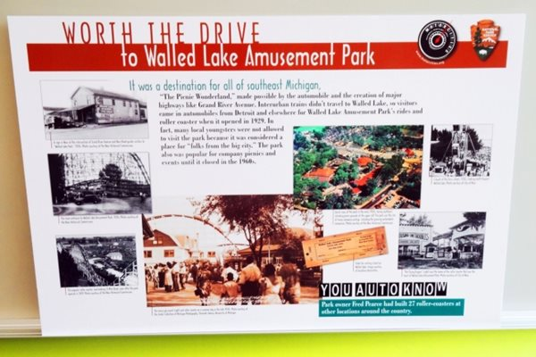 Mortorcities Marker - Worth the Drive: Walled Lake Amusement Park